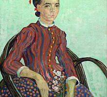La Mousmé is an oil painting on canvas completed by Vincent van Gogh in 1888 by Adam Asar