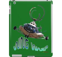 Mil Helicopter Wing Warp T-shirt Design iPad Case/Skin