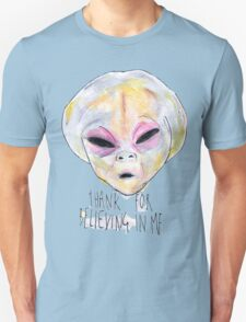 """""""Thank For Believing In Me"""" Unisex T-Shirt"""