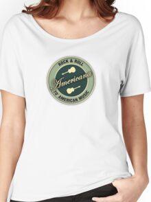 Americana Rock&roll Women's Relaxed Fit T-Shirt