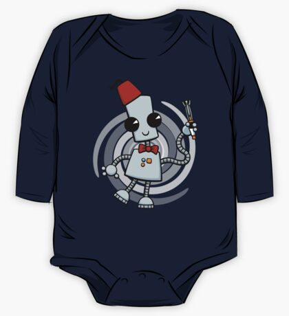 Ned the Time Traveller (11) One Piece - Long Sleeve