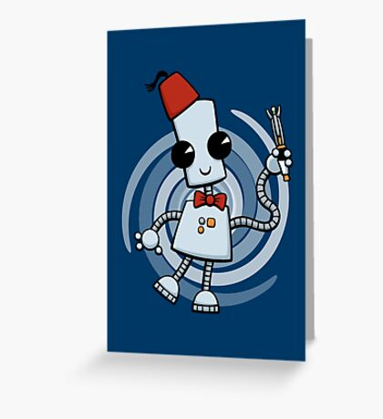 Ned the Time Traveller (11) Greeting Card