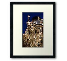 Casa Batllo, Barcelona, Spain Framed Print
