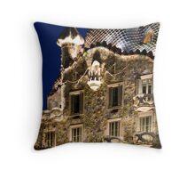 Casa Batllo, Barcelona, Spain Throw Pillow