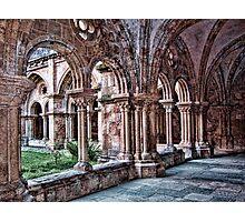 Cloisters. Church of Santa Cruz, Coimbra, Portugal Photographic Print