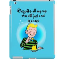 music from the 90's - rat in a cage iPad Case/Skin