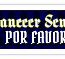 Cinnamon Toast and Tacos, Por Favor Sticker