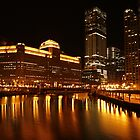 Merchandise Mart Wide Angle by Adam Bykowski