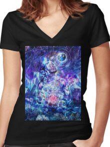 Transcension, 2015 Women's Fitted V-Neck T-Shirt