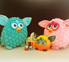Furby Birthday Party by FendekNaughton