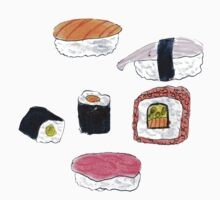 Aesthetic Sushi by saoirse-designs