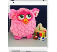 Pink Furby Birthday iPad Case/Skin