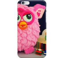 Pink Furby Birthday iPhone Case/Skin
