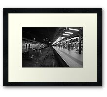 Central Station, Sydney. Framed Print