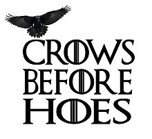 Crows Before Hoes by Fabien Findura