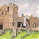 Lindisfarne Priory Part II by GEORGE SANDERSON