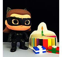 Catwoman Birthday Photographic Print