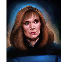 Star Trek: Beverly Crusher Photographic Print