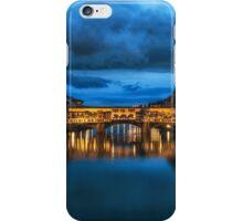 Clouds over Ponte Vecchio iPhone Case/Skin
