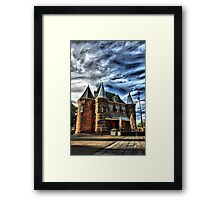 The Lonely Man Framed Print