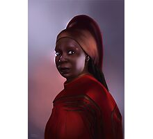 Star Trek: Guinan Photographic Print