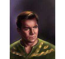 Star Trek: cpt.Kirk Photographic Print