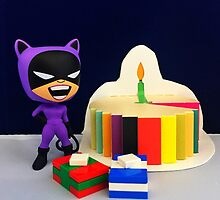 Retro Catwoman Birthday by FendekNaughton
