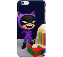 Retro Catwoman Birthday iPhone Case/Skin