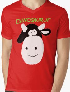 Dinosaur Jr Cow Mens V-Neck T-Shirt