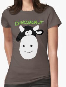 Dinosaur Jr Cow Womens Fitted T-Shirt