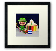 Riddler Birthday Framed Print
