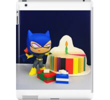 Mini Batgirl Birthday iPad Case/Skin