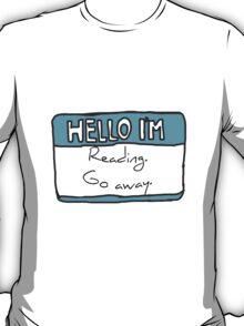 Hello I'm Reading T-Shirt