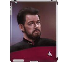 Star Trek: cmd. Riker iPad Case/Skin
