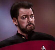 Star Trek: cmd. Riker by spiritius