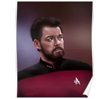 Star Trek: cmd. Riker Poster