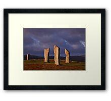The mystics Framed Print