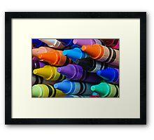 Contemporary Colors Framed Print