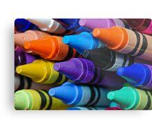 Contemporary Colors Metal Print