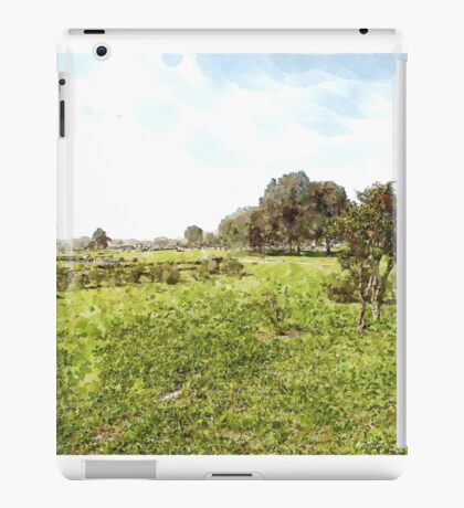 Paestum: archaeological site iPad Case/Skin