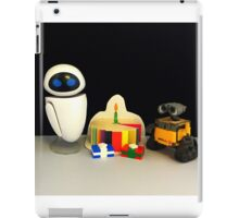 Wall-E & Eve Birthday iPad Case/Skin