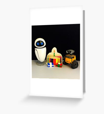 Wall-E & Eve Birthday Greeting Card