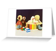 Mini Zombie Birthday Greeting Card