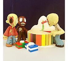 Mini Zombie Birthday Photographic Print