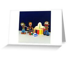 Michonne & Pets Birthday Greeting Card