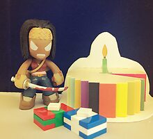 Michonne Birthday by FendekNaughton