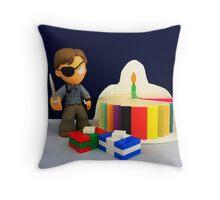 Governor Birthday Throw Pillow