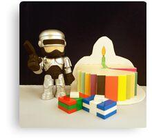 Robocop Birthday Canvas Print