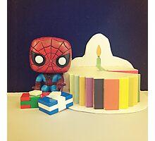 Spider-Man Birthday Photographic Print
