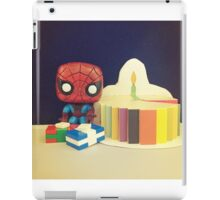 Spider-Man Birthday iPad Case/Skin